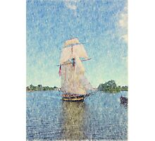 Pride of Baltimore II - Parade of Sails Photographic Print