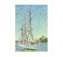Sørlandet - Parade of Sails Art Print