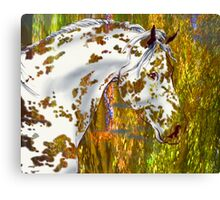 Spot in the Fall Canvas Print