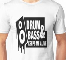 Drum Bass Unisex T-Shirt