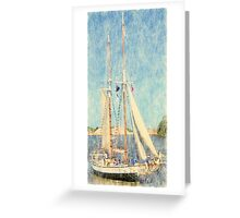 Madeline - Parade of Sails Greeting Card