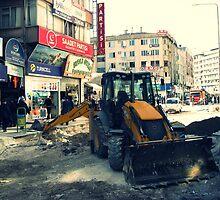 A street in Gaziantep. by rasim1