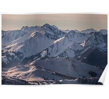 Montagnes Impénétrables Poster