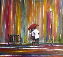 Love in the Rain by artbymanjiri