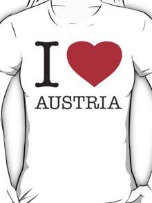 I ♥ AUSTRIA T-Shirt