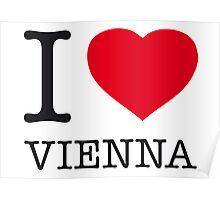 I ♥ VIENNA Poster