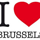 I ♥ BRUSSELS by eyesblau