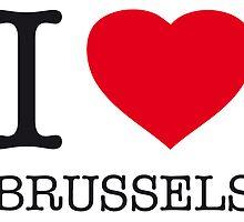 I ♥ BRUSSELS by eyesblau