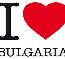 I ♥ BULGARIA by eyesblau
