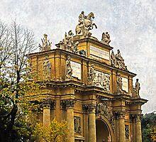 Truimphal arch, Piazza Della Liberta, Florence, Italy   by buttonpresser