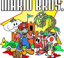 Zombie Mario Bros. by Skree