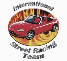 Mazda MX-5 Miata Street Racing Team by hotcarshirts