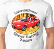 Mazda MX-5 Miata Street Racing Team Unisex T-Shirt