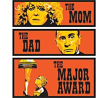 The Mom, The Dad, And The Major Award Photographic Print