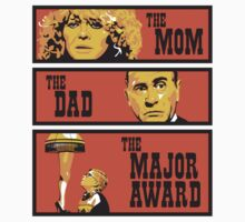 The Mom, The Dad, And The Major Award Kids Tee