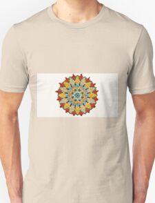 Colorful Mandala Sign Little Dots T-Shirt