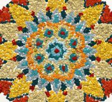 Colorful Mandala Sign Little Dots Sticker