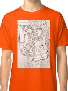 Two Elves For Christmas Classic T-Shirt