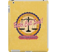 Breaking Bad Inspired - Better Call Saul - Albuquerque Attorney Parody iPad Case/Skin
