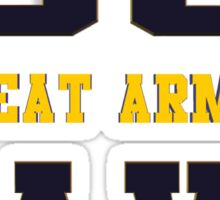 Go Navy, Beat Army!! Sticker