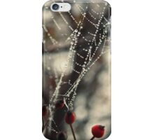 dew drops iPhone Case/Skin