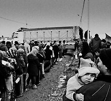 Waiting in Line by Jacob Simkin