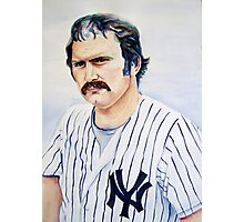 thurman munson Photographic Print