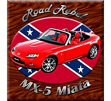 Mazda MX-5 Miata Road Rebel Photographic Print