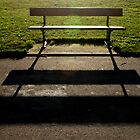 Bench And Shadow by Jazzdenski