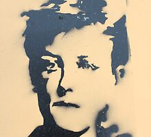 Arthur Rimbaud Stencil by Robson4