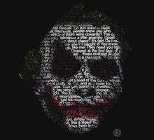 Dark Knight Joker - Typography   by EdUnderground