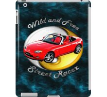 Mazda MX-5 Miata Wild and Free iPad Case/Skin
