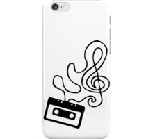 Clef Tape iPhone Case/Skin
