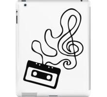 Clef Tape iPad Case/Skin
