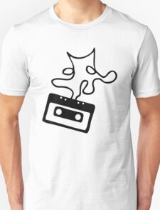 Sheet music - Tape T-Shirt
