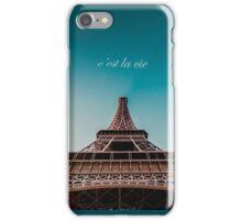 C'est la vie iPhone Case/Skin