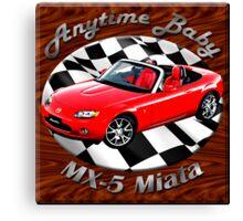 Mazda MX-5 Miata Anytime Baby Canvas Print