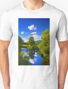 Reflection in the River Unisex T-Shirt