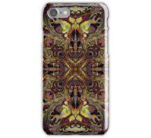 NEON LIZER (14) iPhone Case/Skin