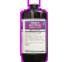 lean bottle phone case by t-bearz