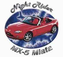 Mazda MX-5 Miata Night Rider by hotcarshirts