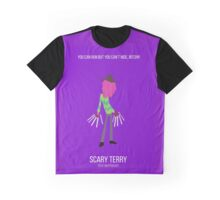 Minimalist Scary Terry Graphic T-Shirt