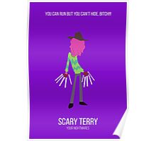 Minimalist Scary Terry Poster