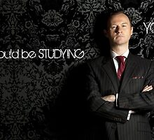 Go Study-Mycroft Holmes v2 by kinderberry