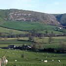Bunster and Thorpe Cloud panorama by Paul  Green