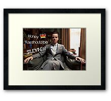 Go Study—James Moriarty Framed Print
