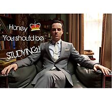 Go Study—James Moriarty Photographic Print