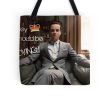 Go Study—James Moriarty Tote Bag