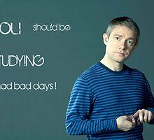 Go Study—John Watson by kinderberry