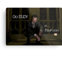 Go Study—James Moriarty v2 Metal Print